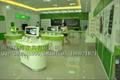 供應電信2011新款中島體驗促銷台 2