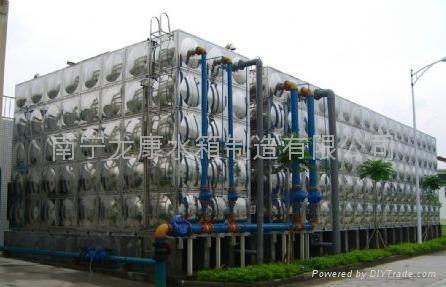 广西不锈钢消防水箱 1