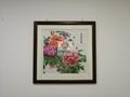 花开富贵牡丹花刺绣工艺品