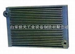 空气加热器换热管、暖风机换热管、钢铝复合翅片管