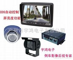 24V汽車后視系統