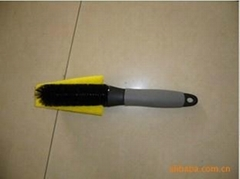 car wheel brush /  tyre brush / rim brush