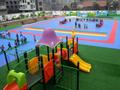 幼儿園操場塑膠地面施工