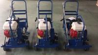 山西路面施工手推式瀝青撒布車小型瀝青灑布車