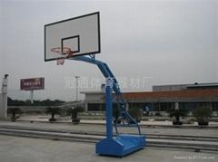 方管移动普通板篮球架