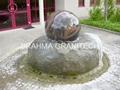 Floating spheres,rolling spheres
