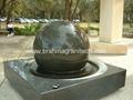 fontaine flottante, sphère conçoit, la