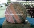 granite ball,spinning ball fountain