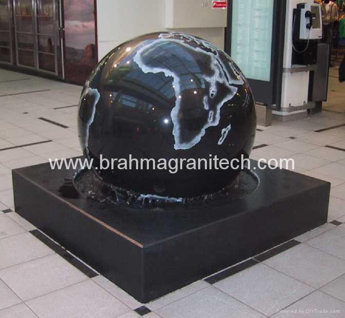 Granit Kugelbrunnen,marmorkuglen,steinkuglen,kugelbrunnen 2