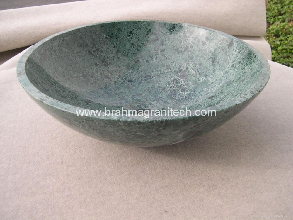 Green Marble sink and Green marble washbasin 1