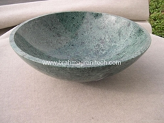 Green Marble sink and Green marble washbasin