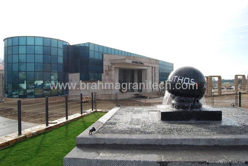 floating granite globes,rolling ball fountain,stone ball,marble ball,granite bal