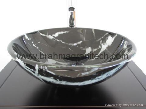 Bathroom Sinks India black marble bathroom sinks and stone sinkbasin - granite sink