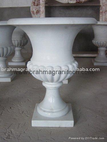 Garden marble planter 1