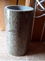 Granite hollow column