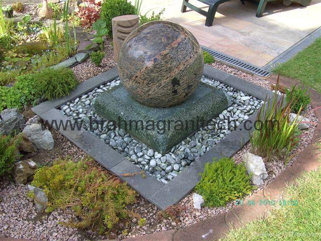 garden marble ball