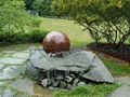 water fountain spheres,water feature
