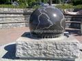 Garden stone balls,garden water features