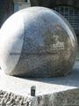 fontanna ogrodowa kula,kula marmurowa
