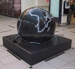 Black Granite balls
