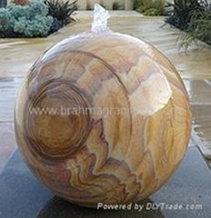 Sandstone balls,Sandstone spheres,Rainbow sandstone balls