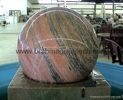 marble fountain ball