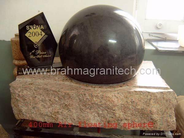 boule de granit, boule en pierre, boule de marbre, globe de granit, sphère de gr