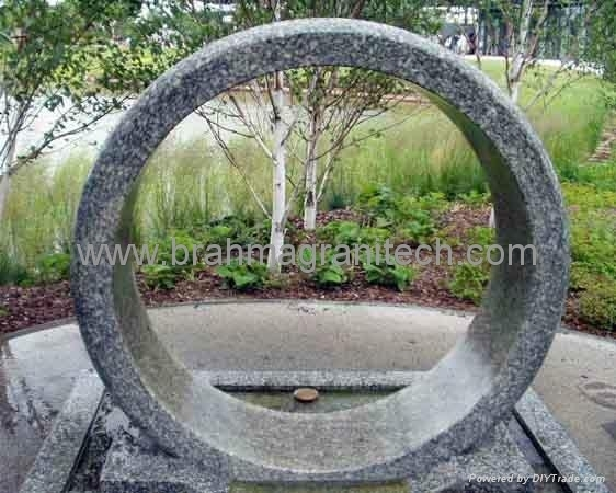 rolling ring fountain