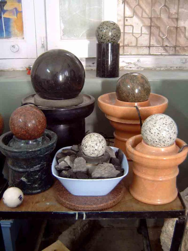 Table Top Sphere Fountain Ball Fountain Small Sphere