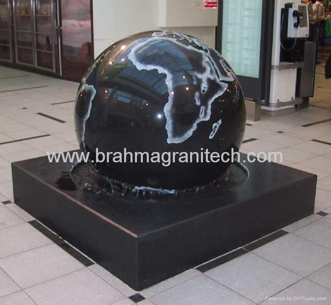 Floating spheres
