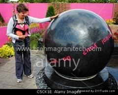 Boule fontaine,fontaine boule en granit