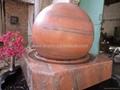 fountain balls,floating sphere fountain,stone fountain balls 4
