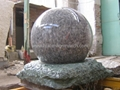 Rolling sphere fountain,Rolling sphere water features 2
