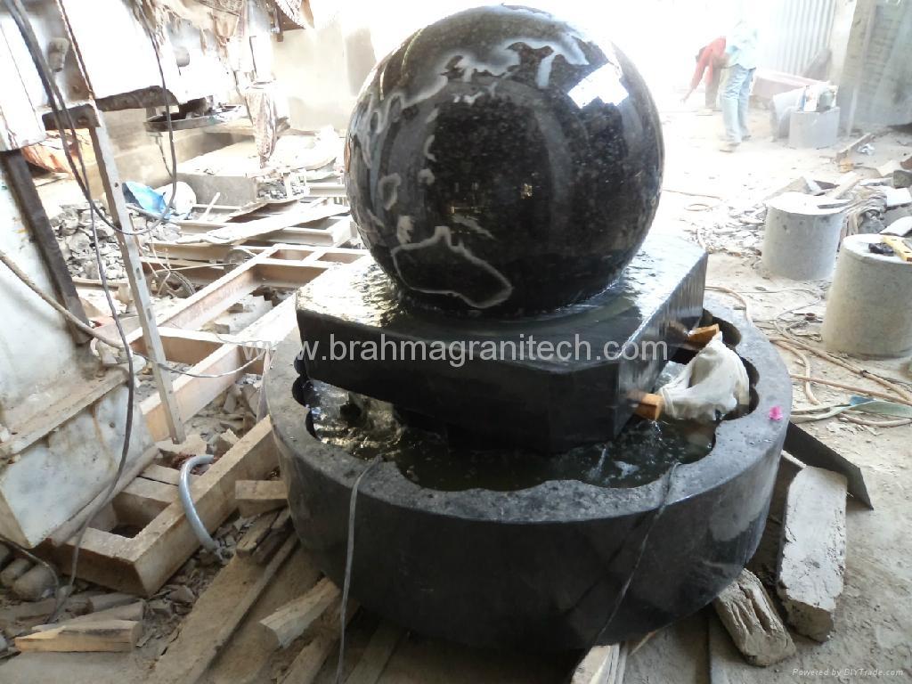 garden sphere water fountain,round ball fountain 2