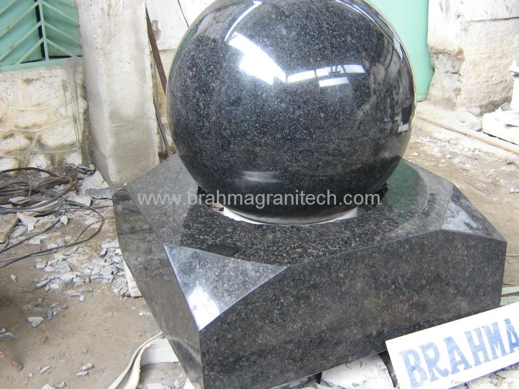 Polished Natural Stone Balls Granite Ball India