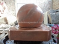 sphere fountains,garden fountain with sphere,sphere water fountains 3