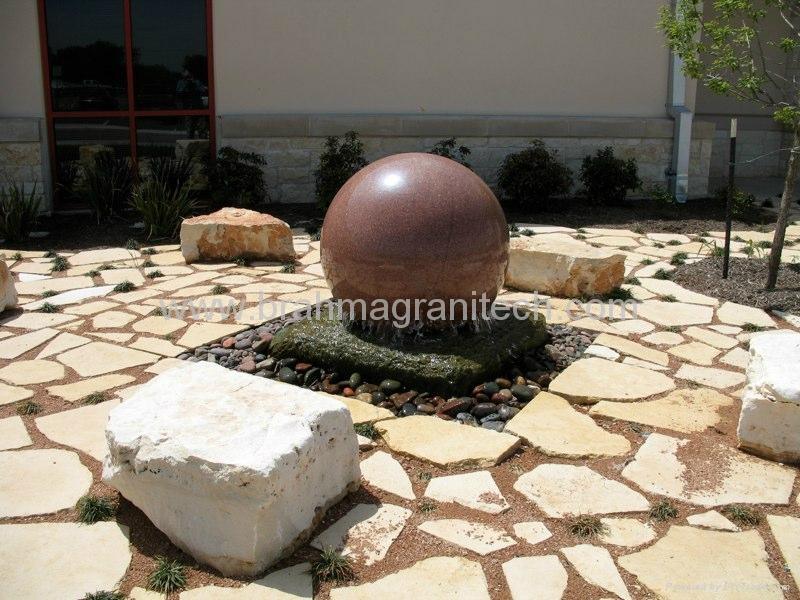 kugelbrunnen,granitbrunnen,natursteinbrunnen,marmorbrunnen 3