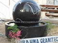 black granite spheres