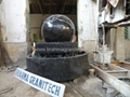 black granite spheres Revo  ing ball fountain Floating ball fountain 4