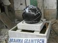 round granite fountain