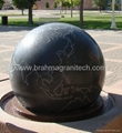 Floating Sphere,Kugel ball,Rotating ball.Fountain balls 5
