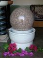 Fontanna Kulowa,Obracająca się kula ,Granitowa kula 5