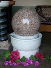 Water floating stone balls,Плавающий шар