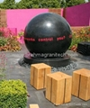 water ball fountain