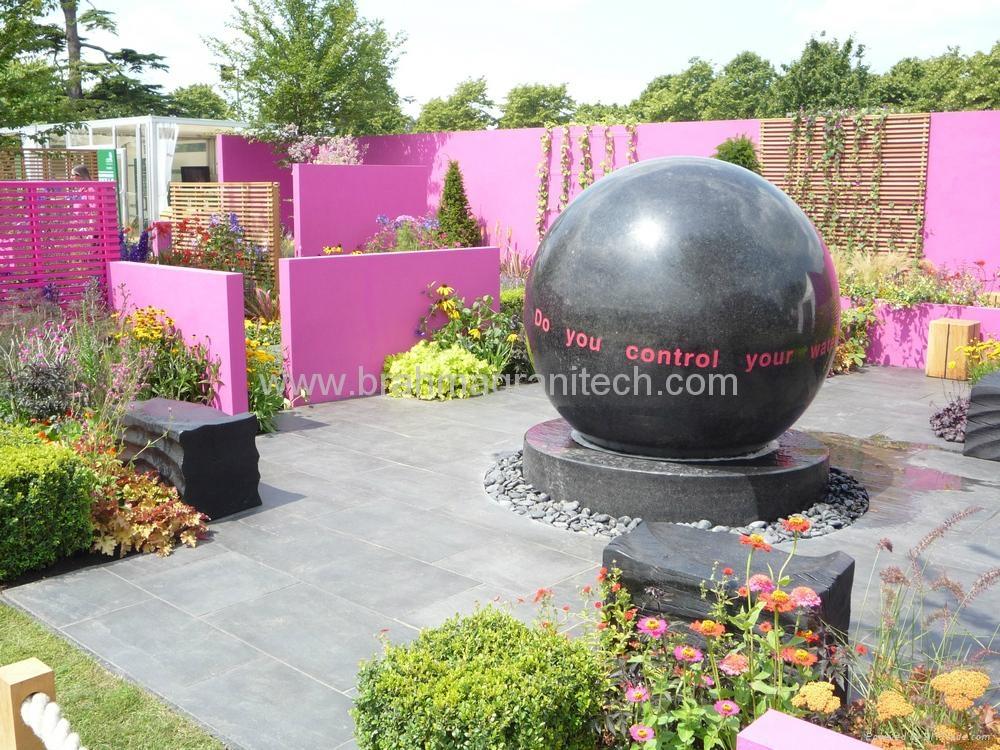 Black stone balls 2