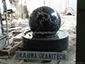 floating granite globe,floating marble