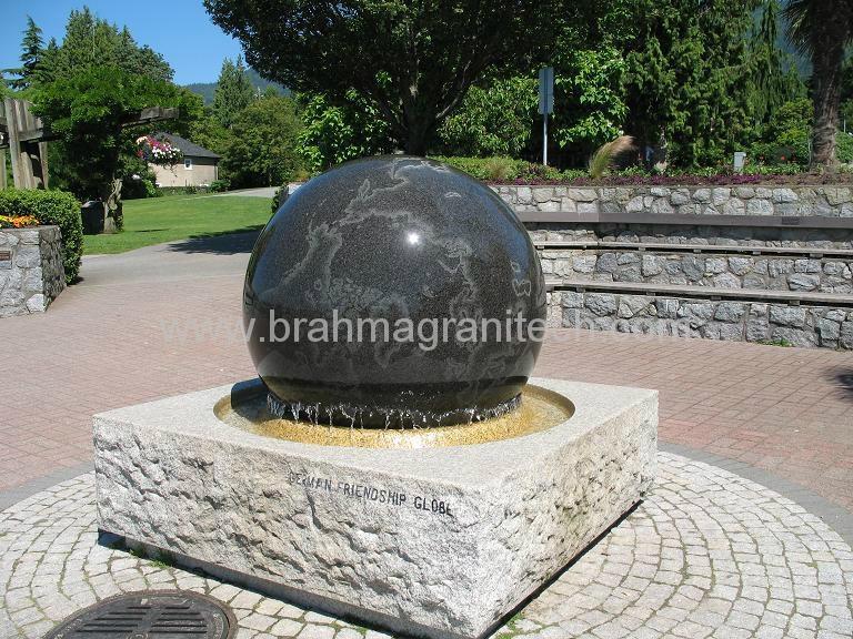 rolling ball fountain