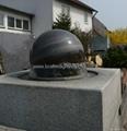 rotating stone sphere,water fountain ball 2