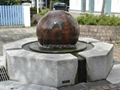 rotating stone sphere,water fountain ball 4