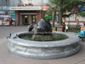 rotating stone sphere,water fountain ball 5